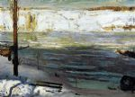 george bellows artwork - floating ice by george bellows