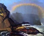 george bellows fog rainbow art