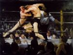 george bellows artwork - stag at sharkey s by george bellows