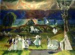 george bellows artwork - summer fantasy by george bellows