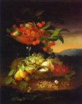 george forster famous paintings - still life with fruit iii by george forster