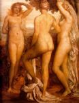 the three graces by george frederick watts painting