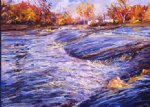 george gallo art - des plaines river 2 by george gallo