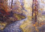 george gallo art - laurel creek by george gallo