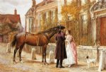 george goodwin kilburne famous paintings - goodby by george goodwin kilburne