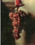 hanging grapes by george henry hall painting