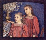 the serrys sisters by georges lemmen painting