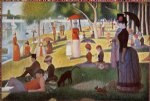 a sunday afternoon on the island of la grande jatte by georges seurat prints