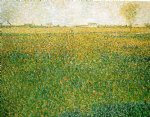 alfalfa fields saint by georges seurat prints