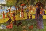 an afternoon at la grande jatte by georges seurat prints