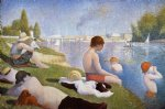 bathing at asnieres by georges seurat prints