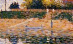 boats near the beach at asnieres by georges seurat prints