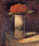 georges seurat original paintings - boquet in a vase by georges seurat