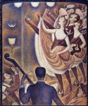 georges seurat chahut painting