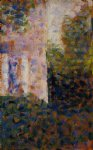 corner of a house by georges seurat prints