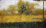 edge of wood springtime by georges seurat prints