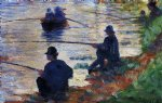 fishermen by georges seurat prints