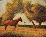 georges seurat horse paintings 33533