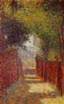 georges seurat original paintings - rue saint by georges seurat