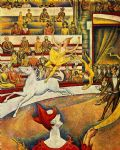 georges seurat the circus painting 83445