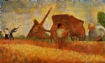 georges seurat famous paintings - the stone breakers by georges seurat