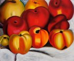 georgia o keeffe acrylic paintings - apple family ii by georgia o keeffe