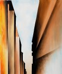 street original paintings - street new york i 1926 by georgia o keeffe