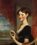 gilbert stuart art - ann penington by gilbert stuart