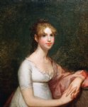 gilbert stuart art - anna powell mason by gilbert stuart