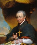 gilbert stuart art - bishop jean by gilbert stuart