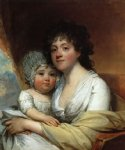 elizabeth corbin griffin gatliff and her daughter elizabeth by gilbert stuart original paintings