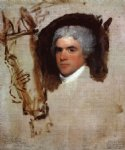 gilbert stuart original paintings - john bill ricketts unfinished by gilbert stuart