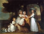 the children of the second duke of northumberland by gilbert stuart original paintings