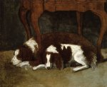 gilbert stuart the hunter dogs painting-33459