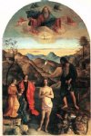 giovanni bellini art - baptism of christ by giovanni bellini