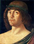 portrait of a humanist by giovanni bellini painting