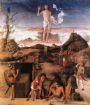 giovanni bellini acrylic paintings - resurrection of christ by giovanni bellini
