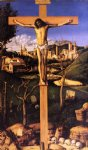 the crucifixion by giovanni bellini painting