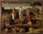 transfiguration of christ ii by giovanni bellini painting