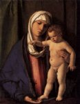 virgin and child ii by giovanni bellini painting