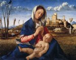 virgin and child by giovanni bellini painting