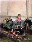 giovanni boldini famous paintings - peaceful days by giovanni boldini