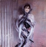 portrait of emiliana concha de ossa by giovanni boldini acrylic paintings