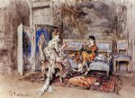the conversation by giovanni boldini posters
