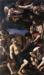 guercino art - the martyrdom of st peter by guercino