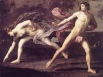 atalanta and hippomenes by guido reni painting