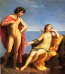 guido reni acrylic paintings - bacchus and ariadne by guido reni