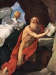 st jerome by guido reni painting