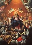 guido reni famous paintings - the coronation of the virgin by guido reni