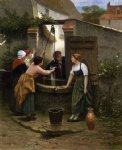 guillaume seignac by the well painting